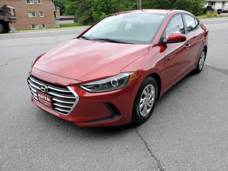 2017 Hyundai Elantra for sale at AUTO CONNECTION LLC in Springfield VT