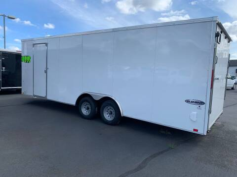2021 Look Car Hauler Cargo Trailers st for sale at Siamak's Car Company llc in Salem OR