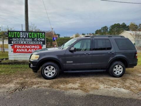2007 Ford Explorer for sale at AutoBuyCenter.com in Summerville SC