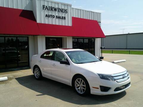 2011 Ford Fusion for sale at Fairwinds Auto Sales in Dewitt AR