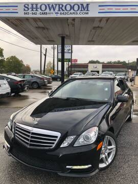 2013 Mercedes-Benz E-Class for sale at Showroom Auto Sales of Charleston in Charleston SC