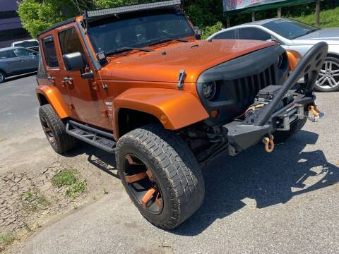 2011 Jeep Wrangler Unlimited for sale at Tennessee Auto Brokers LLC in Murfreesboro TN