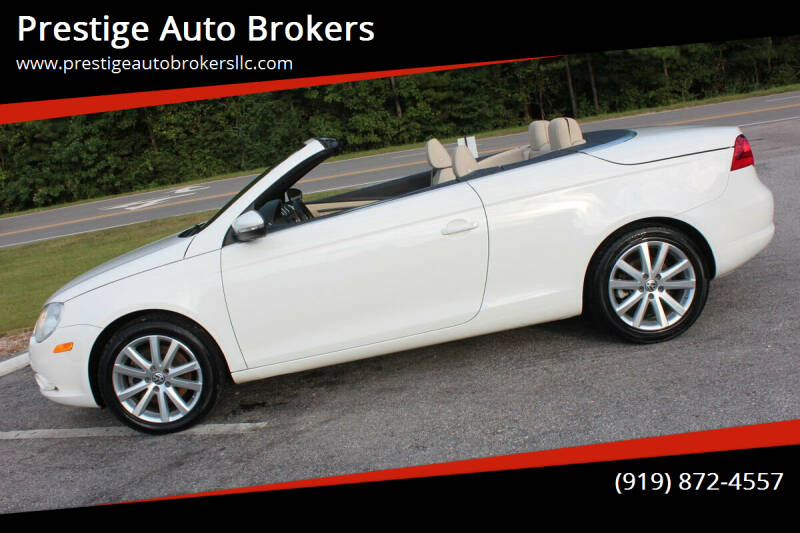 2009 Volkswagen Eos for sale at Prestige Auto Brokers in Raleigh NC