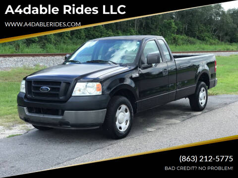 2005 Ford F-150 for sale at A4dable Rides LLC in Haines City FL