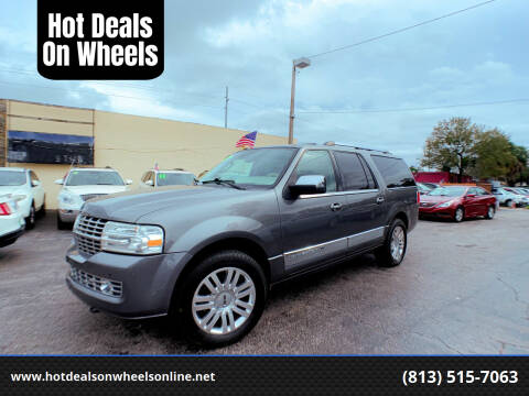 2012 Lincoln Navigator L for sale at Hot Deals On Wheels in Tampa FL