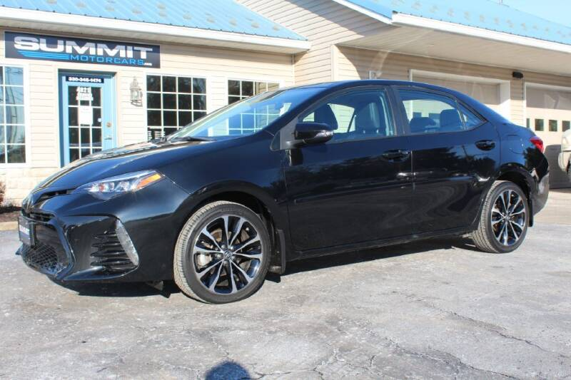2018 Toyota Corolla for sale at Summit Motorcars in Wooster OH