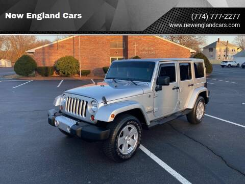 2011 Jeep Wrangler Unlimited for sale at New England Cars in Attleboro MA