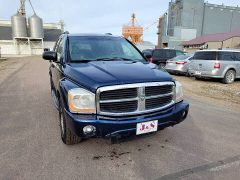2004 Dodge Durango for sale at J & S Auto Sales in Thompson ND