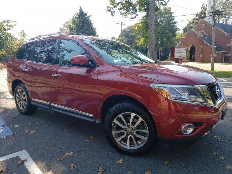 2013 Nissan Pathfinder for sale at McAdenville Motors in Gastonia NC