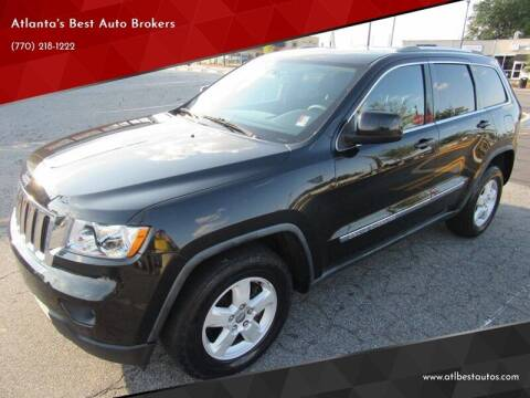 2012 Jeep Grand Cherokee for sale at Atlanta's Best Auto Brokers in Marietta GA