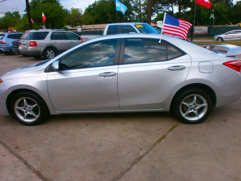 2017 Toyota Corolla for sale at Under Priced Auto Sales in Houston TX