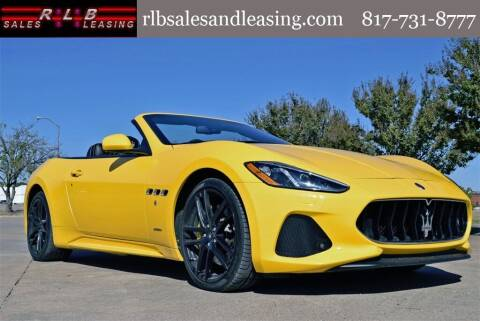 2018 Maserati GranTurismo for sale at RLB Sales and Leasing in Fort Worth TX