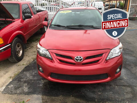 2012 Toyota Corolla for sale at Auction Direct Plus in Miami FL