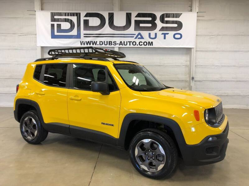 2018 Jeep Renegade for sale at DUBS AUTO LLC in Clearfield UT