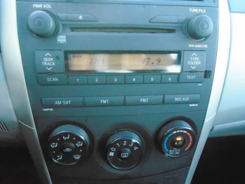2009 Toyota Corolla LE 4dr Sedan 4A - Houston TX