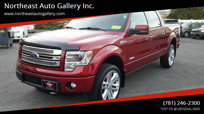 2013 Ford F-150 for sale at Northeast Auto Gallery Inc. in Wakefield Ma MA