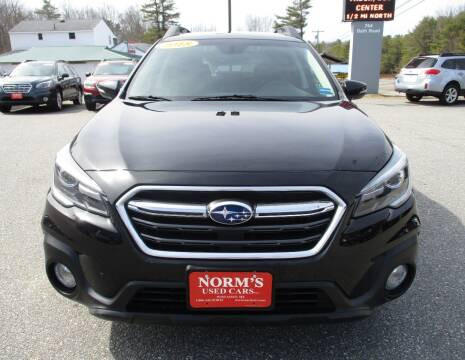 2018 Subaru Outback for sale at NORM'S USED CARS INC in Wiscasset ME