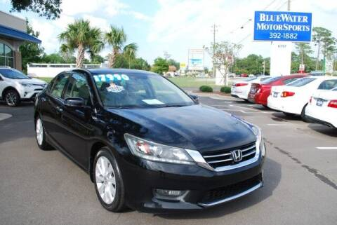 2015 Honda Accord for sale at BlueWater MotorSports in Wilmington NC