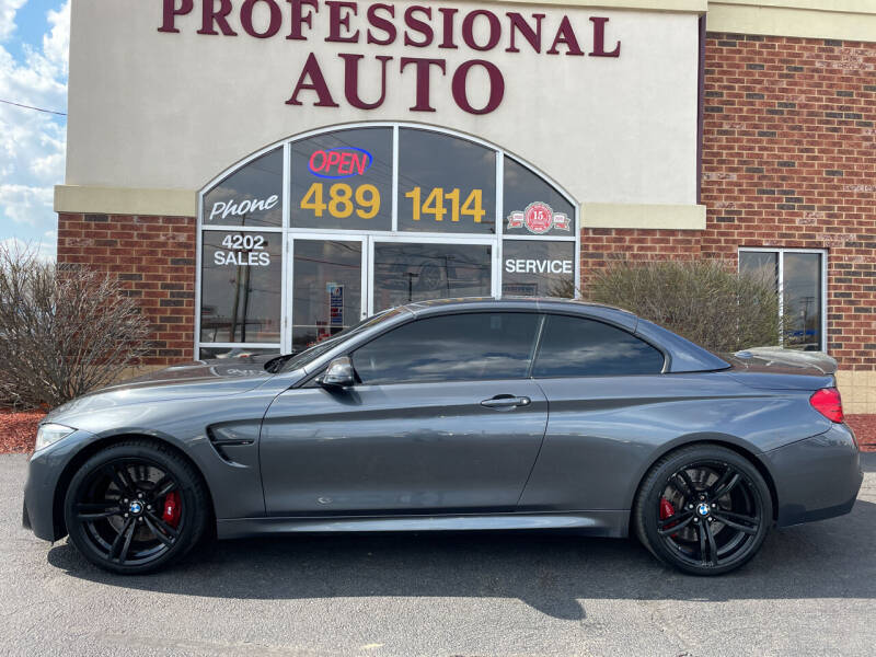 2015 BMW M4 for sale at Professional Auto Sales & Service in Fort Wayne IN