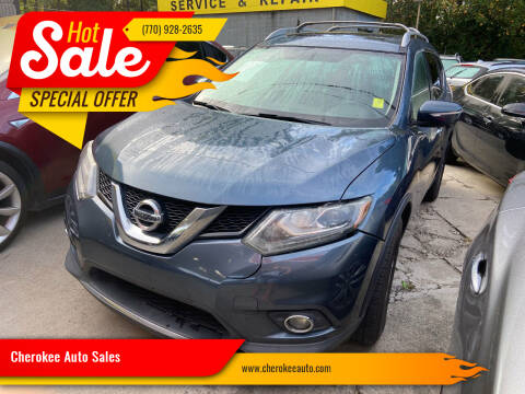 2014 Nissan Rogue for sale at Cherokee Auto Sales in Acworth GA
