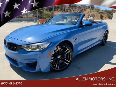 2016 BMW M4 for sale at Allen Motors, Inc. in Thousand Oaks CA