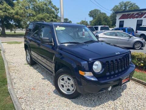 2017 Jeep Patriot for sale at Beach Auto Brokers in Norfolk VA