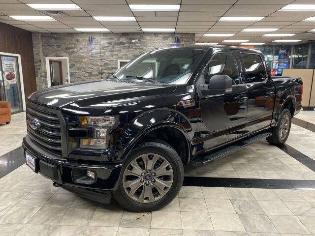 2017 Ford F-150 for sale at Sonias Auto Sales in Worcester MA