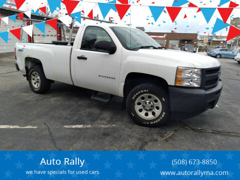 2011 Chevrolet Silverado 1500 for sale at Auto Rally in Fall River MA
