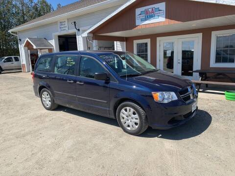 2014 Dodge Grand Caravan for sale at M&A Auto in Newport VT