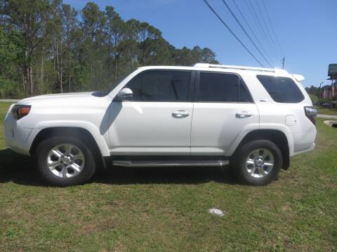 2016 Toyota 4Runner for sale at Ward's Motorsports in Pensacola FL