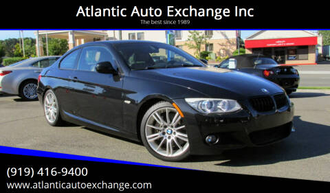 2012 BMW 3 Series for sale at Atlantic Auto Exchange Inc in Durham NC