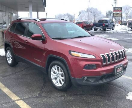 2016 Jeep Cherokee for sale at Clapper MotorCars in Janesville WI