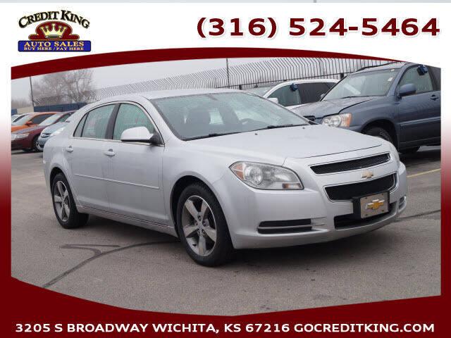 2011 Chevrolet Malibu for sale at Credit King Auto Sales in Wichita KS