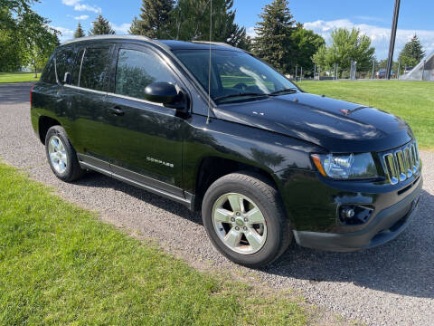 2014 Jeep Compass for sale at BELOW BOOK AUTO SALES in Idaho Falls ID