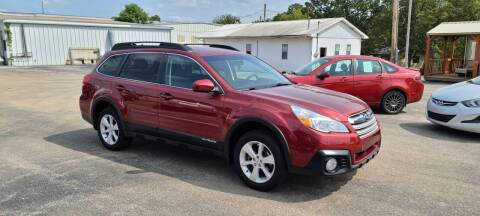 2014 Subaru Outback for sale at Aaron's Auto Sales in Poplar Bluff MO