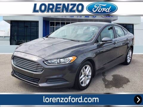 2016 Ford Fusion for sale at Lorenzo Ford in Homestead FL