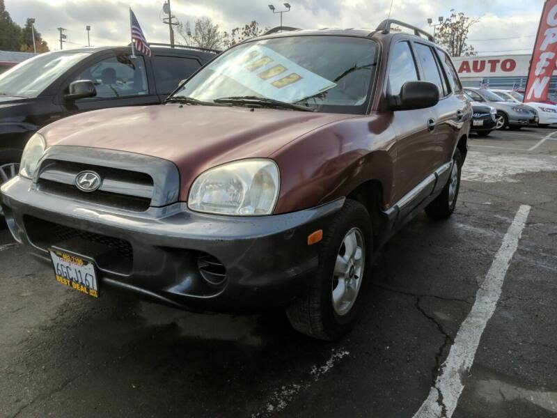 2005 Hyundai Santa Fe for sale at Best Deal Auto Sales in Stockton CA