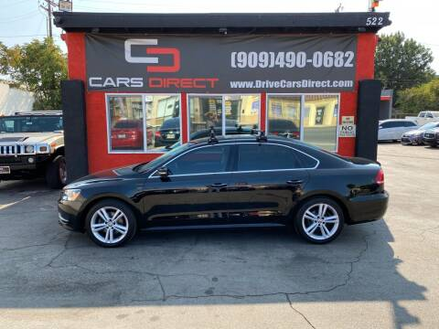 2014 Volkswagen Passat for sale at Cars Direct in Ontario CA