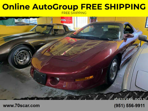 1994 Pontiac Firebird for sale at Online AutoGroup FREE SHIPPING in Riverside CA