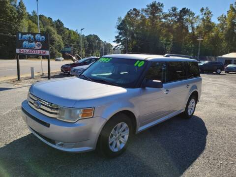 2010 Ford Flex for sale at Let's Go Auto in Florence SC