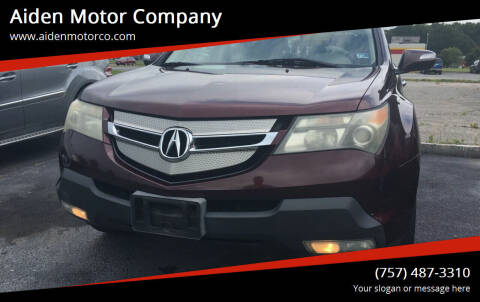 2007 Acura MDX for sale at Aiden Motor Company in Portsmouth VA