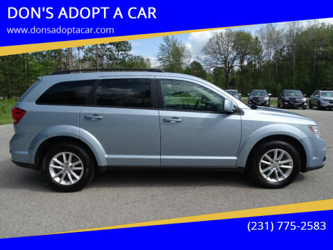 2013 Dodge Journey for sale at DON'S ADOPT A CAR in Cadillac MI