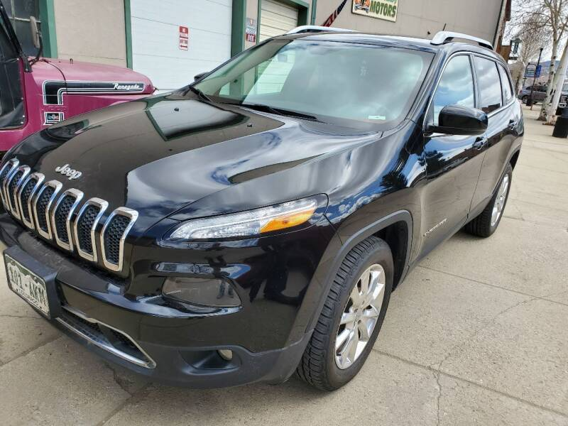 2014 Jeep Cherokee for sale at HIGH COUNTRY MOTORS in Granby CO
