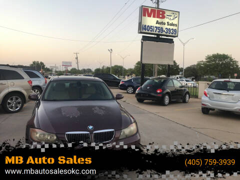 2006 BMW 3 Series for sale at MB Auto Sales in Oklahoma City OK