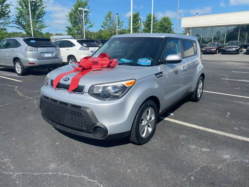 2015 Kia Soul for sale at Charlotte Auto Group, Inc in Monroe NC