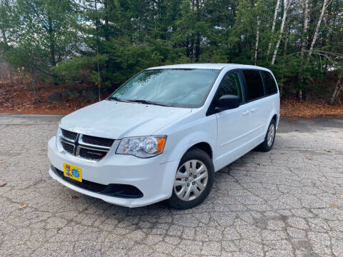 2017 Dodge Grand Caravan for sale at Granite Auto Sales in Spofford NH