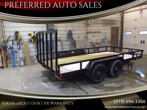 2021 H&H 82 X 14 UTILITY for sale at PREFERRED AUTO SALES in Lockridge IA