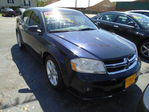 2012 Dodge Avenger for sale at River City Auto Sales in Cottage Hills IL