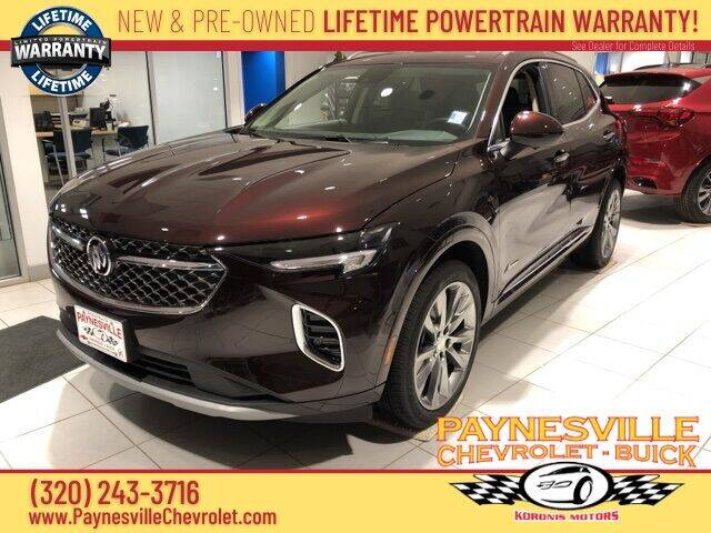 2021 Buick Envision for sale at Paynesville Chevrolet - Buick in Paynesville MN