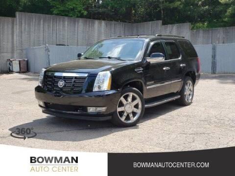 2012 Cadillac Escalade for sale at Bowman Auto Center in Clarkston MI